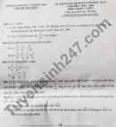 Đề thi kì 2 lớp 6 môn Toán 2021 - TP Huế