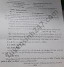 Đề thi học kì 2 năm 2021 THPT Hàm Thuận Nam môn Văn lớp 10