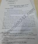 Đề thi học kì 2 năm 2021 môn Văn lớp 7 Huyện Trà Ôn