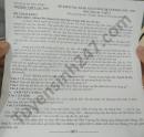 Đề thi học kì 2 năm 2021 THPT Lạc Sơn môn Văn lớp 12