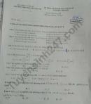 Đề thi kì 2 môn Toán lớp 10 năm 2021 - THPT Nguyễn Văn Tố
