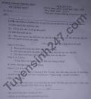 Đề thi học kì 2 môn Văn lớp 8 - Phòng GD Phong Điền 2021