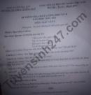 Đề thi học kì 2 lớp 9 môn Văn 2021 TH-THCS Chiềng Ban