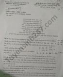 Đề thi học kì 2 THPT Nguyễn Huệ năm 2021 môn Văn lớp 10