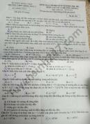 Đề thi học kì 2 môn Lý lớp 11 THPT Hồng Ngự 1 năm 2021