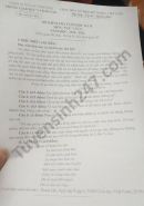 Đề thi học kì 2 môn Văn lớp 9 năm 2021 Huyện Quỳnh Nhai