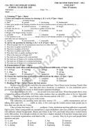 Đề thi học kì 2 THCS Gia Thụy năm 2021 môn Anh lớp 7