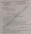 Đề thi học kì 2 huyện Thanh Bình năm 2021 môn Văn lớp 8