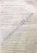 Đề thi thử vào lớp 10 năm 2021 THCS - THPT Nguyễn Khuyến môn Toán