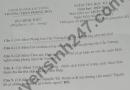 Đề thi học kì 2 môn Sử lớp 8 - THCS Phong Hòa 2021
