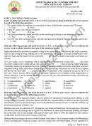 Đề thi học kì 2 THPT Nguyễn Hiền năm 2021 môn Anh lớp 10