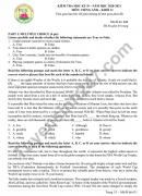 Đề thi học kì 2 môn Anh lớp 11 THPT Nguyễn Hiền năm 2021