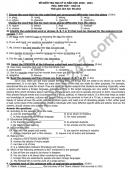 Đề thi học kì 2 năm 2021 THPT Lương Văn Can môn Anh lớp 10