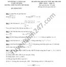 Đề thi học kì 2 môn Toán lớp 11 THPT Nguyễn Chí Thanh năm 2021
