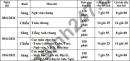 Lịch thi vào lớp 10 tỉnh Hà Nam 2021