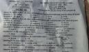 Đáp án đề thi môn Anh vào lớp 10 tỉnh An Giang năm 2021