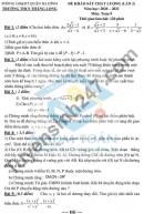 Đề thi KSCL lớp 9 môn Toán lần 2 - THCS Thăng Long 2021