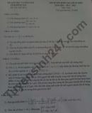 Đề thi thử vào lớp 10 môn Toán - tỉnh Đồng Nai 2021