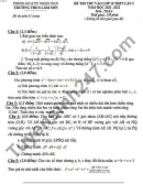 Đề thi thử vào lớp 10 lần 2 năm 2021 - THCS Lâm Sơn môn Toán