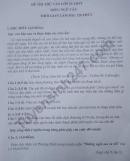 Đề thi thử vào lớp 10 môn Văn - THCS Cẩm Ninh 2021