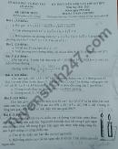 Đáp án đề thi vào lớp 10 tỉnh An Giang môn Toán chuyên 2021