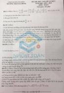 Đề thi thử vào lớp 10 môn Toán - THCS Sài Đồng 2021