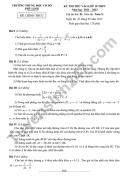Đề thi thử vào lớp 10 THCS Phù Linh năm 2021 môn Toán - có đáp án