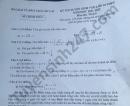 Đáp án đề thi vào lớp 10 môn Toán - Lào Cai 2021