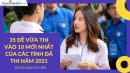 35 Đề vừa thi vào 10 mới nhất 2021 Toán - Văn- Anh có lời giải