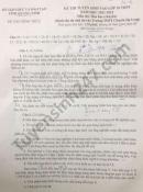 Đáp án đề thi vào lớp 10 năm 2021 môn Hóa chuyên tỉnh Quảng Ninh