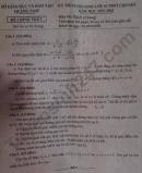 Đáp án đề thi vào lớp 10 THPT chuyên môn Toán - Quảng Nam 2021