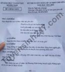 Đáp án đề thi vào lớp 10 THPT chuyên 2021 - tỉnh Quảng Nam môn Văn