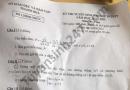Đáp án đề thi môn Toán vào lớp 10 tỉnh Thanh Hóa 2021