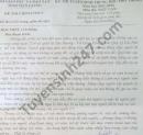 Đáp án đề thi vào lớp 10 môn Văn tỉnh Tiền Giang 2021