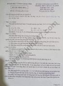 Đáp án đề thi vào lớp 10 môn Hóa chuyên Hà Tĩnh 2021