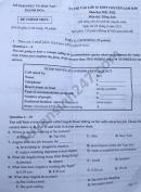 Đề thi vào lớp 10 môn Anh Chuyên tỉnh Thanh Hóa 2021