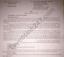 Đáp án đề thi vào lớp 10 Ninh Thuận năm 2021 môn Văn