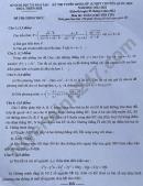 Đáp án đề thi vào lớp 10 môn Toán chuyên Tin - THPT Chuyên Quốc Học Huế 2021
