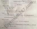 Đáp án đề thi vào lớp 10 môn Toán tỉnh Quảng Bình năm 2021