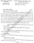 Đáp án đề thi vào lớp 10 Chuyên tỉnh Lâm Đồng - môn Văn (chung) 2021
