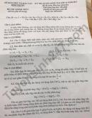 Đáp án đề thi vào lớp 10 tỉnh Bình Phước môn Hóa Chuyên 2021