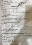 Đề thi vào lớp 10 môn Toán Chuyên - Quảng Bình 2021