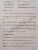 Đáp án đề thi vào lớp 10 THPT Chuyên - môn Văn tỉnh Cà Mau 2021