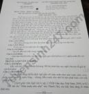 Đáp án đề thi vào lớp 10 môn Văn Chuyên - Lâm Đồng năm 2021