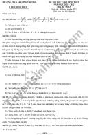Đề thi thử vào lớp 10 môn Toán - THCS Khương Thượng 2021 (Có đáp án)