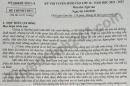 Đáp án đề thi vào lớp 10 tỉnh Sơn La môn Văn 2021