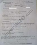 Đáp án đề thi vào lớp 10 năm 2021 môn Toán chuyên tỉnh Tuyên Quang