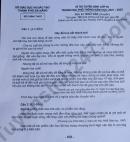 Đáp án đề thi vào lớp 10 môn Văn chuyên Đà Nẵng 2021