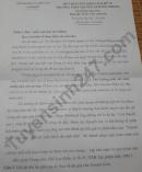 Đáp án đề thi vào lớp 10 môn Văn chuyên - tỉnh Nam Định 2021