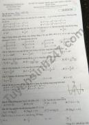 Đáp án đề thi môn Toán tốt nghiệp THPT mã đề 108 năm 2021